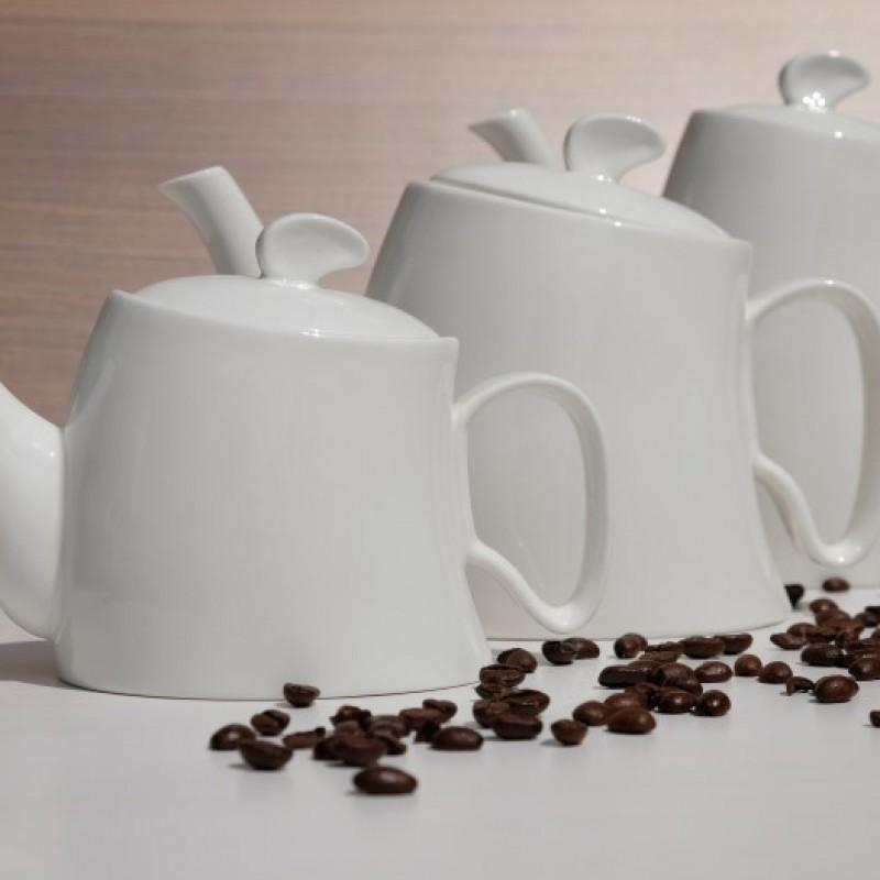 Koffie melk theekan suikerpot