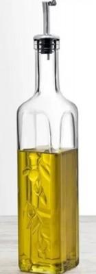 Olieflesje/azijnflesje Homemade 500ml H290mm