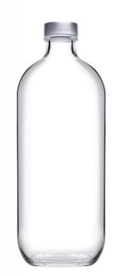 Iconic glazen fles Ø73xH202mm 500ml