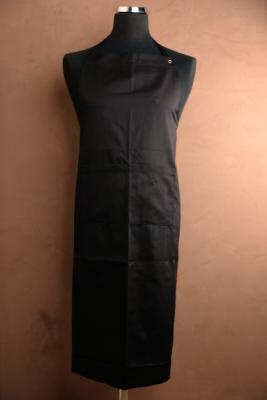 Cuinox Schort met bavet 2 zakken verstelbaar