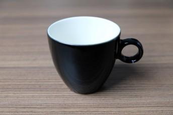 Apple koffietas 190ml zwart