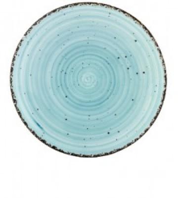 Gural Ent Blauw plat bord D150mm