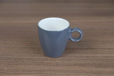 Apple espressotas 65ml donkergrijs