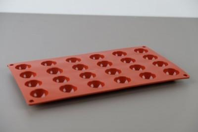 Flexipad siliconen vorm Pomponette 24 D30-H15mm