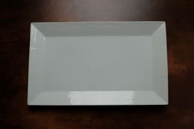 Cuinox Athena rechthoekig bord 356-210mm