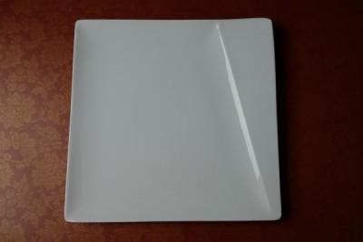 Papillon White Prisma bord vierkant