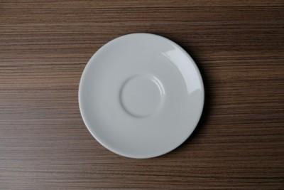 Apple ondertas voor koffie/capuccinotas wit