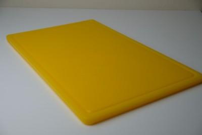 Antimicrobial Snijplank HDPE 530x325x14mm met sapgeul