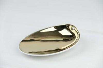 Cookplay Jomon S bowl gold 140x110x40mm