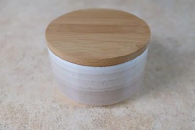 Spring deksel hout voor bowl