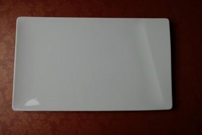 Papillon White Prisma bord rechthoekig 350-210mm