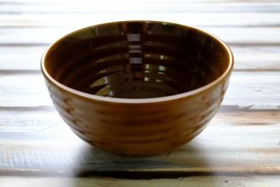 Tribeca bruin bowl 630ml