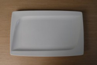 Papillon Square rechthoekig bord 328-200-H26mm
