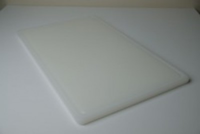Antimicrobial Snijplank HDPE met sapgeul 530x325x14mm