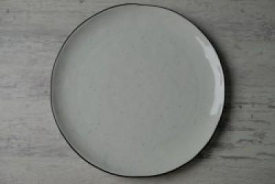 Black Pepper bord plat D260mm