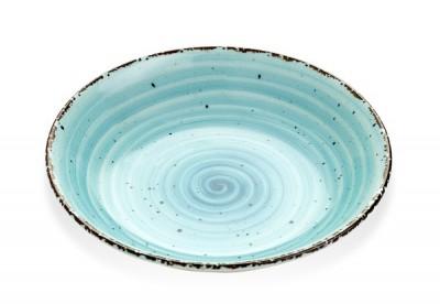 Gural Ent blauw diep bord D200mm