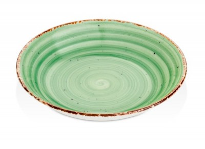 Gural Ent groen diep bord D200mm