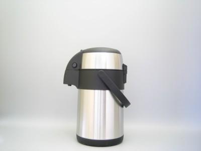 Pompkan Airpot Inox geborsteld onbreekbaar