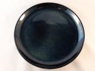 Prato Darkblue bord rond coupe D220mm