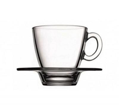 Rombo koffietas en ondertas glas 225ml