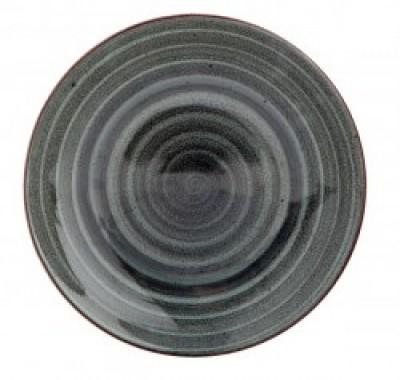 Gural Ent Antraciet plat bord D300mm