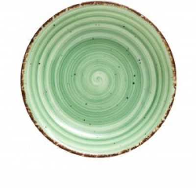 Gural Ent groen plat bord D270mm