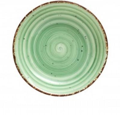 Gural Ent groen plat bord D150mm