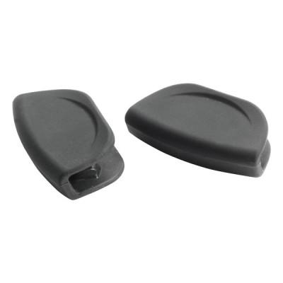 Pintinox Pro siliconen handvaten zwart