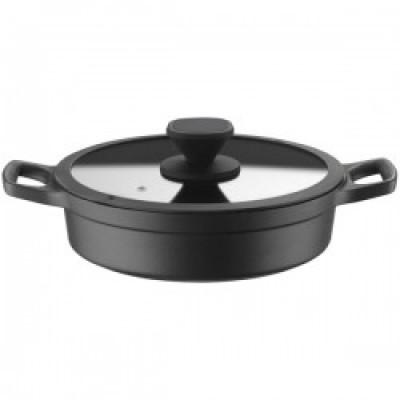 Pintinox Pro kookpot laag aluminium antikleef D280-H85mm
