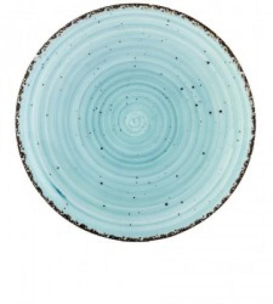 Gural Ent Blauw plat bord D270mm