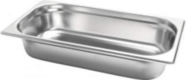 Gastronormbak inox 18/8 - 1/3 - 65mm