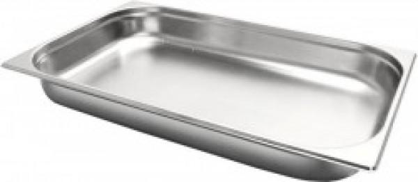 Gastronormbak inox 18/8 - 1/1 - 65mm