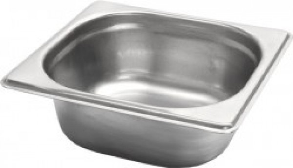 Gastronormbak inox 18/8 - 1/6 - 200mm