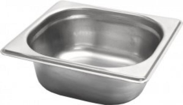 Gastronormbak inox 18/8 - 1/6 - 150mm