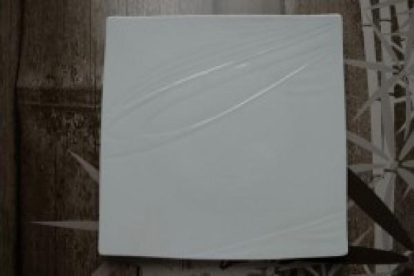 Papillon White Bonsai bord vierkant 260-260mm