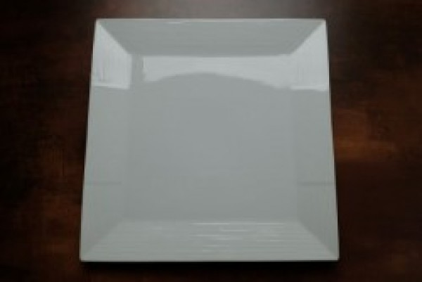 Cuinox Athena vierkant bord 255mm