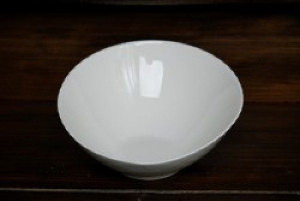 Royal White Bowl schuin 245x110mm