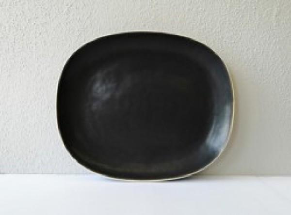 Molde edge black bord rechthoekig 280-235mm