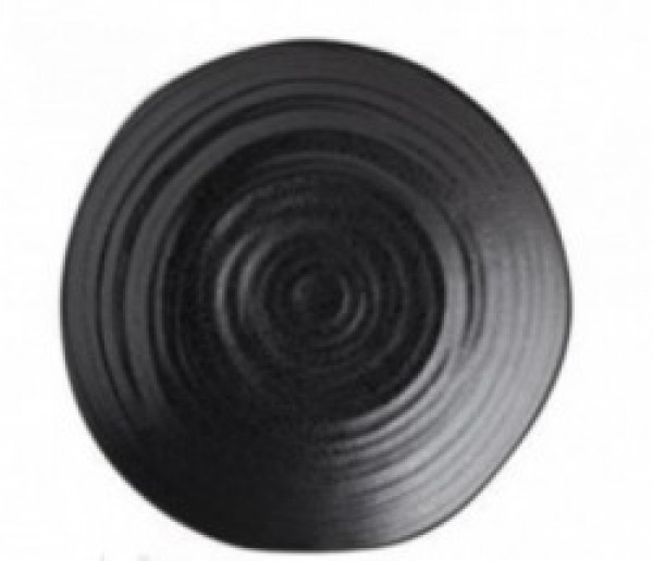 Tribeca zwart plat bord D280mm