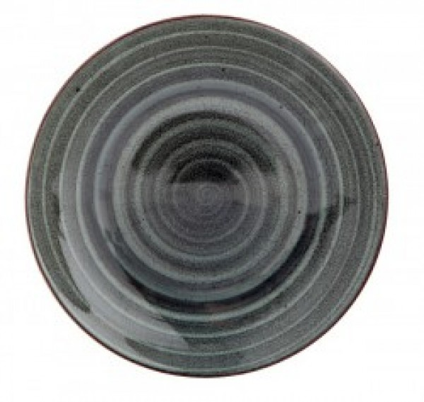 Gural Ent Antraciet plat bord D150mm