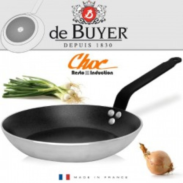 De Buyer Choc Resto Induction Four braadpan D240-H35mm-5mm