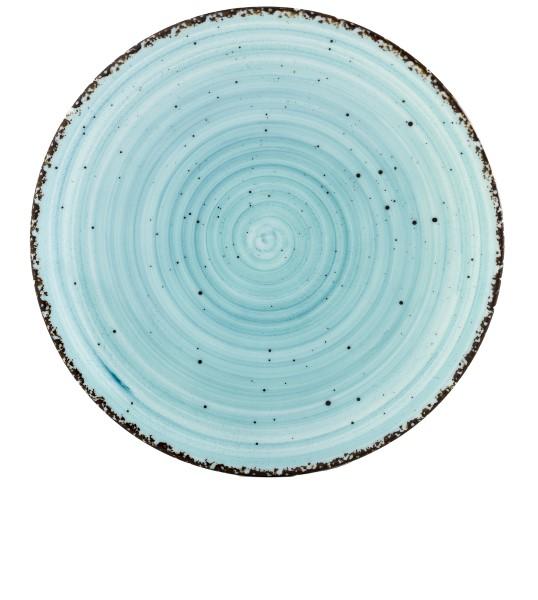 Gural Ent Blauw plat bord D120mm