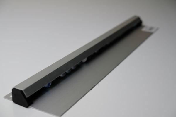 Bonnenhouder gesatineerd aluminium