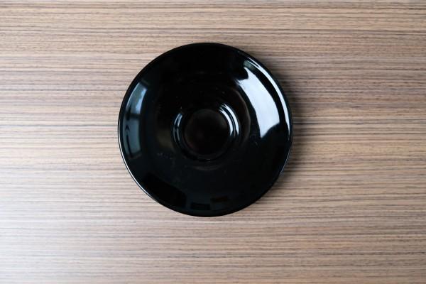 Apple ondertas voor espressotas zwart