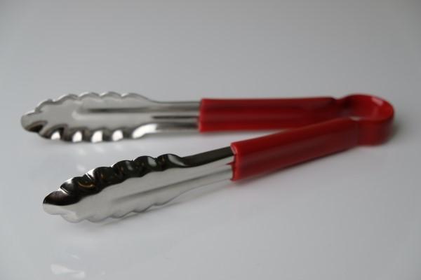 Serveertang silicone handvat