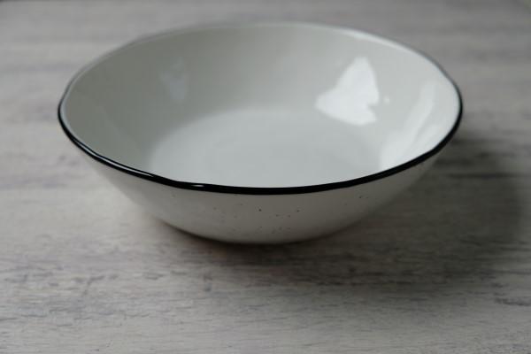 Black Pepper bord diep D220mm