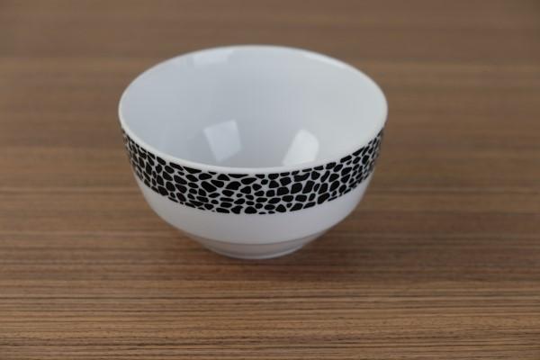 Mielo Black bowl stapelbaar
