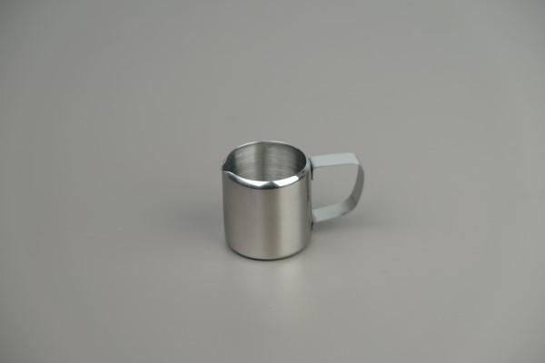 Melkpot recht model, inox 18/8
