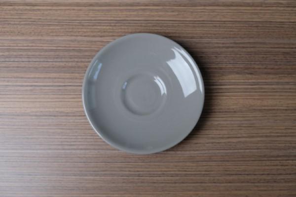 Apple ondertas voor koffie/capuccinotas lichtgrijs