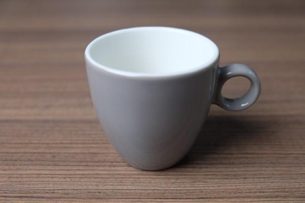 Apple koffietas 190ml lichtgrijs